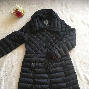 Vince Camuto mid thigh puffer coat